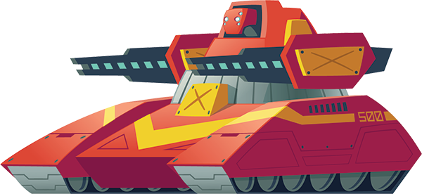 tank web design