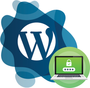 wordpress logo with ssl